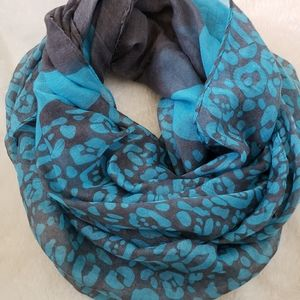 2/ $15 Lightweight Spring Infinity scarf leopard